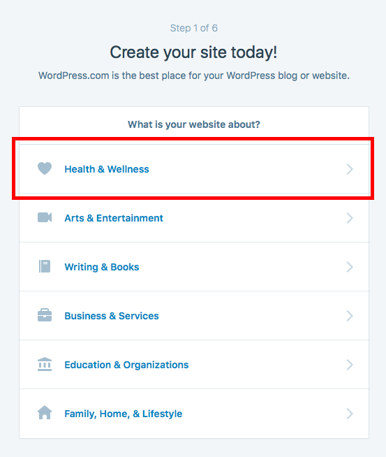 health and wellness website free 2016