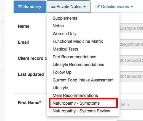 emr for nutritionists