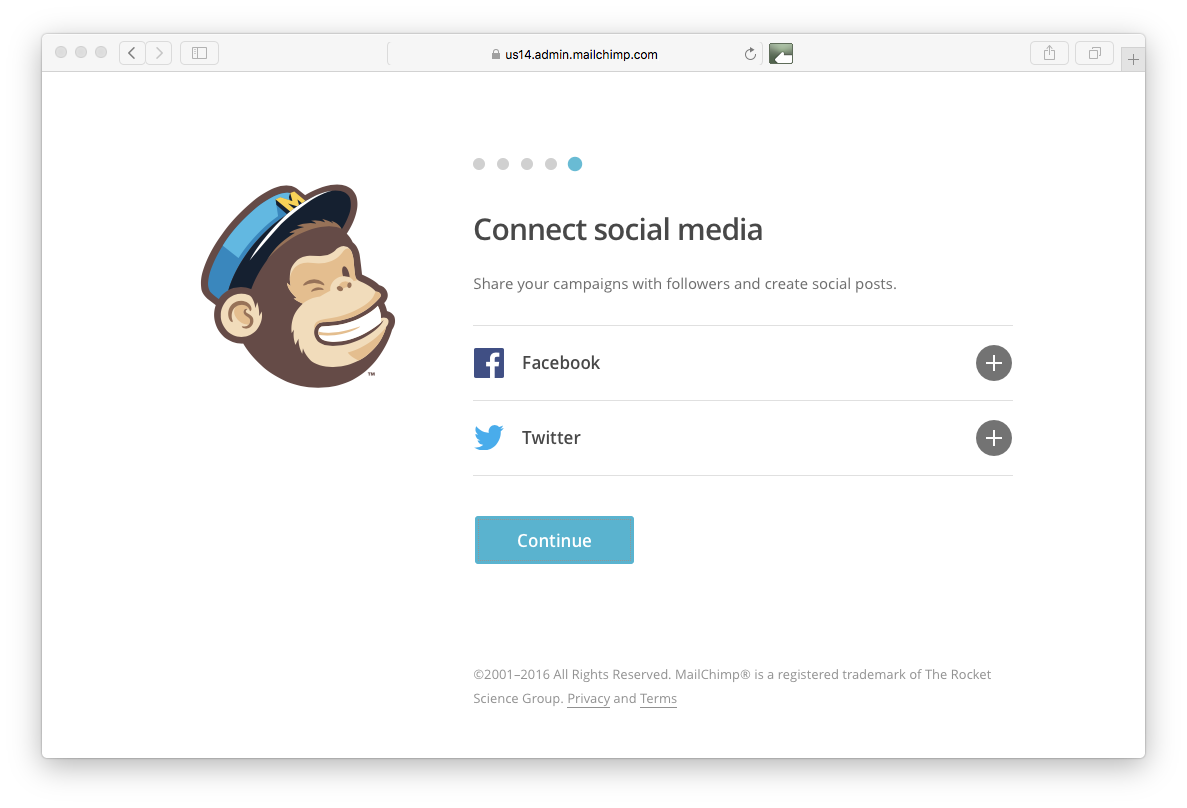 Social Media Mailchimp