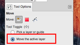 move active layer